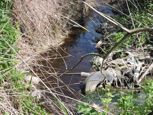 В Ставрополе нашли причину загрязнения реки Чла