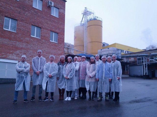 Проект «Кто хочет стать предпринимателем» побывал на Ставропольском пивоваренном заводе