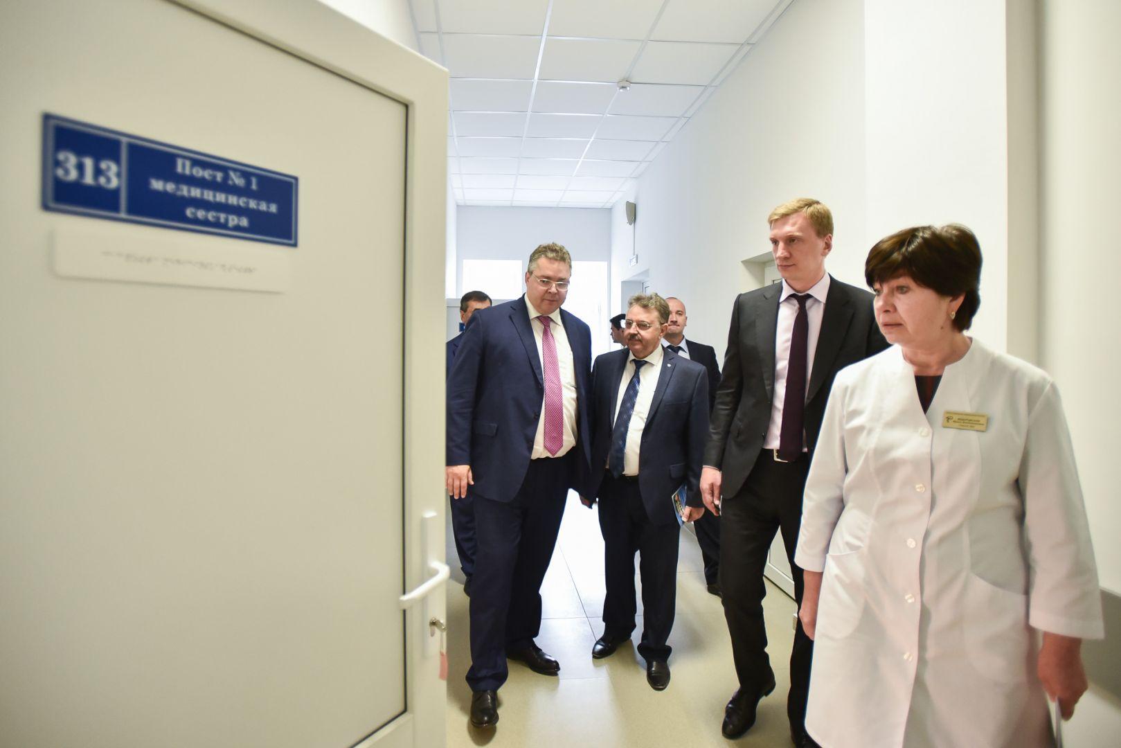 Как вЕссентуках распорядились миллионами наремонт клиник, проверил губернатор