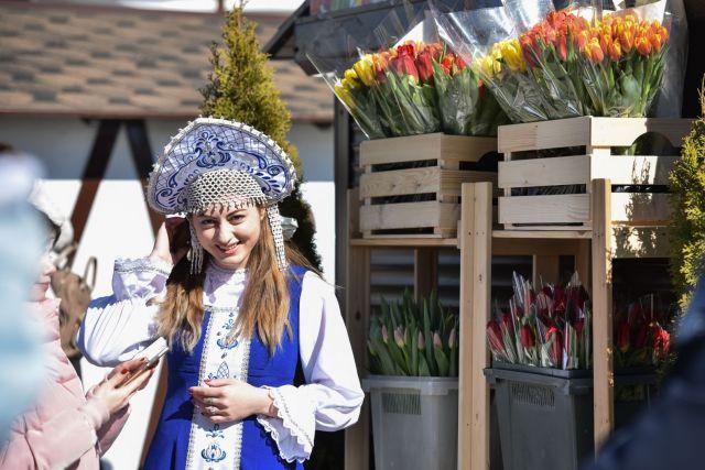 Фестиваль цветов прошёл в Ставрополе