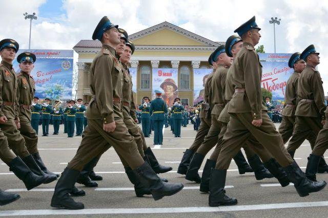 В Параде Победы в Ставрополе задействуют 50 единиц боевой техники