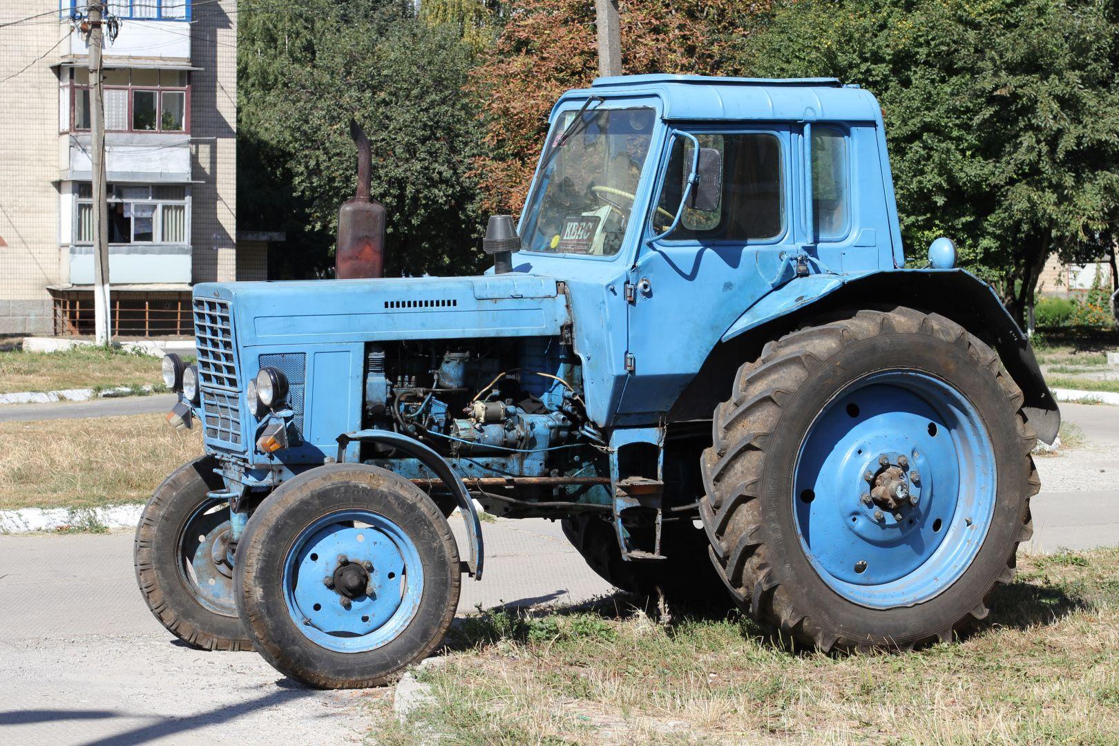 Нетрезвый ставропольчанин угнал припаркованный вогороде трактор