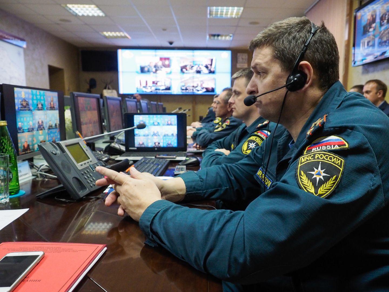 На Ставрополье подвели итоги командно-штабных учений МЧС