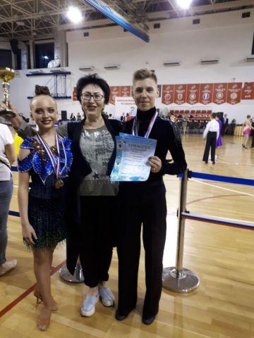 Ставропольская пара стала лучшей на всероссийских соревнованиях по танцевальному спорту
