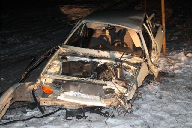 В Новоселицком районе в результате столкновения с водосточной трубой погиб водитель