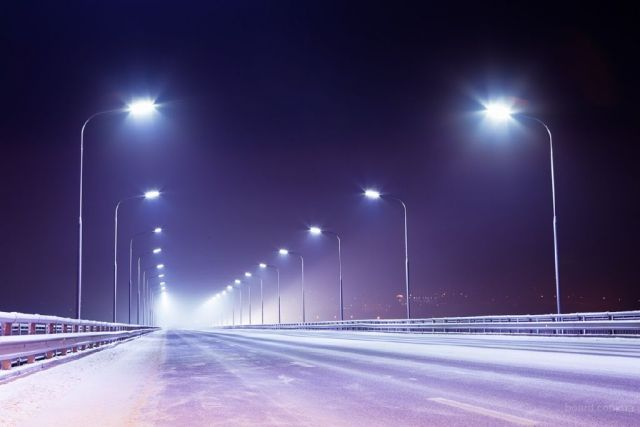 На Ставрополье вблизи одного из сёл установили 5 километров искусственного электроосвещения