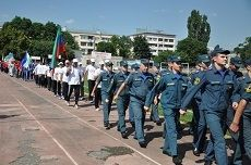 В Кисловодске открылись Всероссийские соревнования по пожарно-прикладному спорту