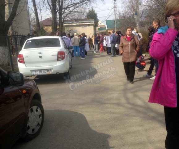 В Ставрополе эвакуировали пациентов поликлиники