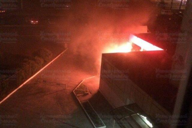 В Ставрополе ночью сгорела «ГАЗель»