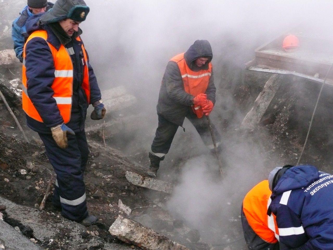 Неменее 350 абонентов вСтаврополе остались без теплоснабжения из-за порыва натеплотрассе