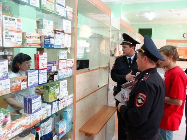 В Георгиевске полиция провела рейд по аптекам