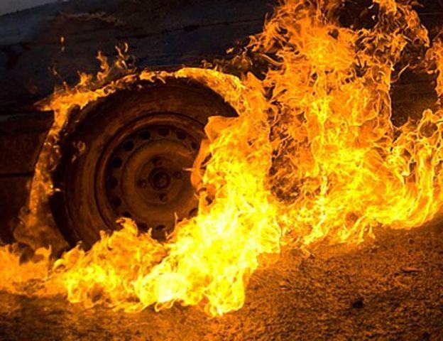 Автобус «Москва — Ставрополь» сгорел под Воронежем