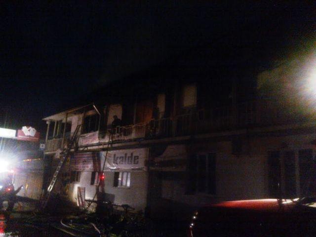 На Ставрополье произошёл крупный пожар на рынке