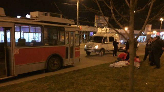 Троллейбус насмерть сбил ставропольского болельщика «Спартака» в Краснодаре