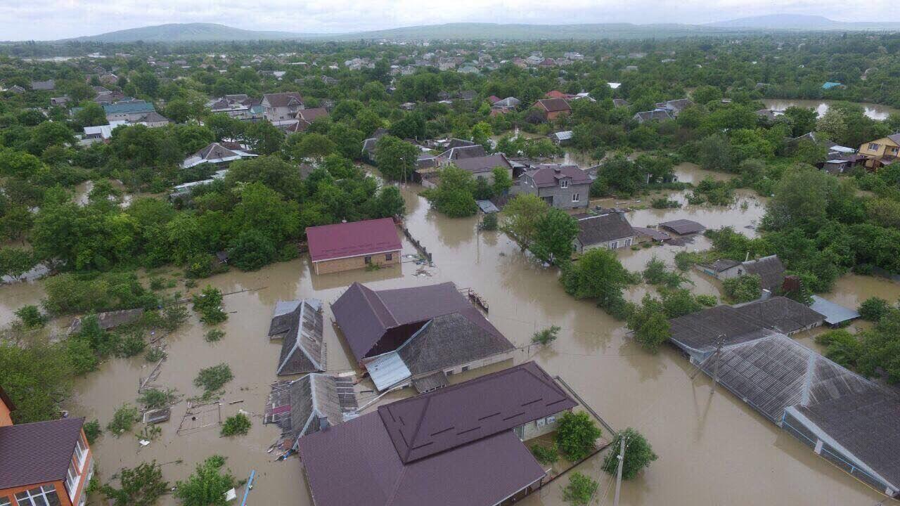 На Cтаврополье продолжается помощь территориям, пострадавшим от паводка