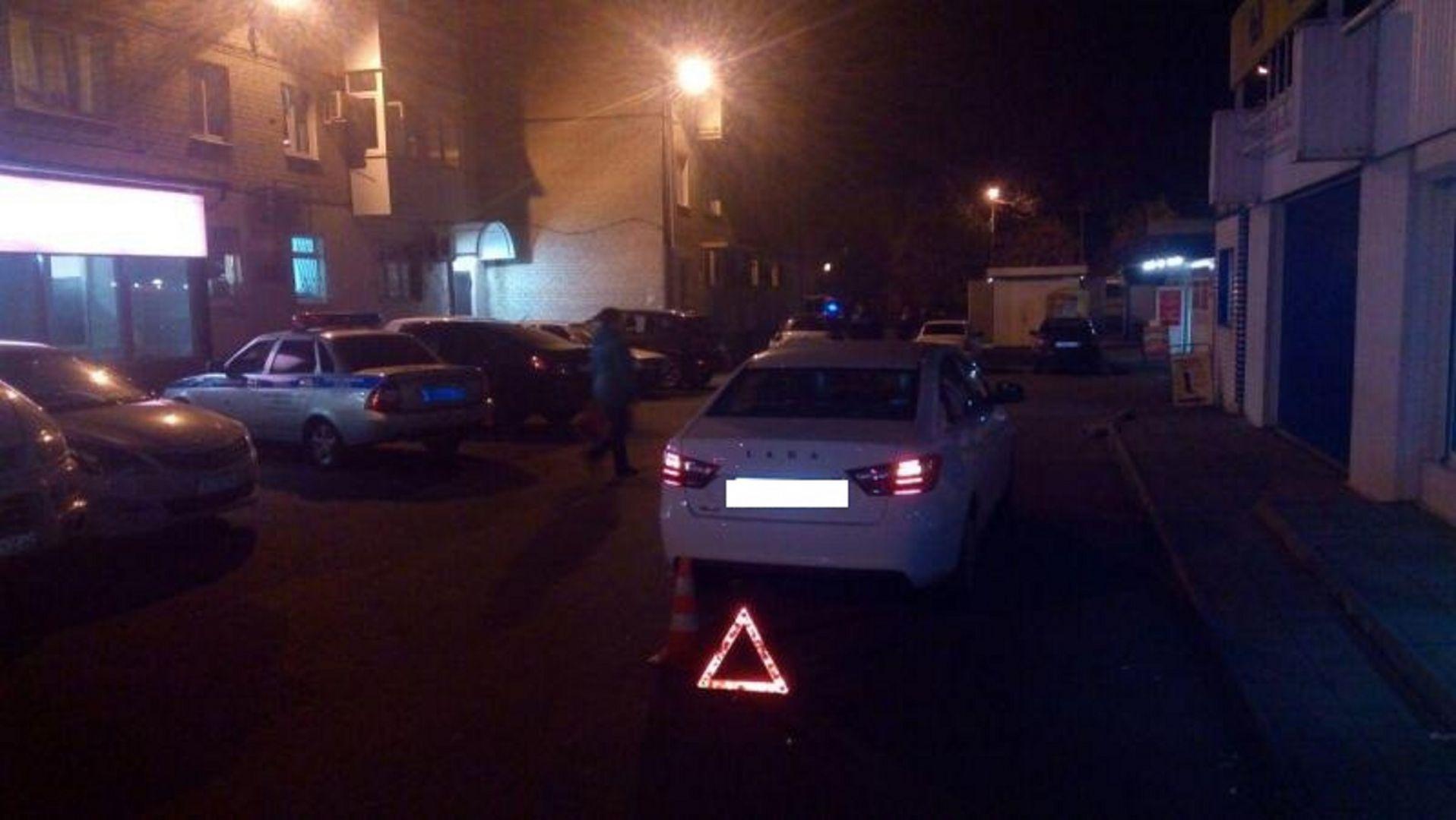 ВСтаврополе 23-летний шофёр сбил пенсионерку на стоянке