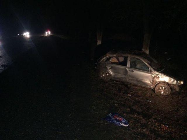 На Ставрополье водитель авто врезался в корову: пострадали трое