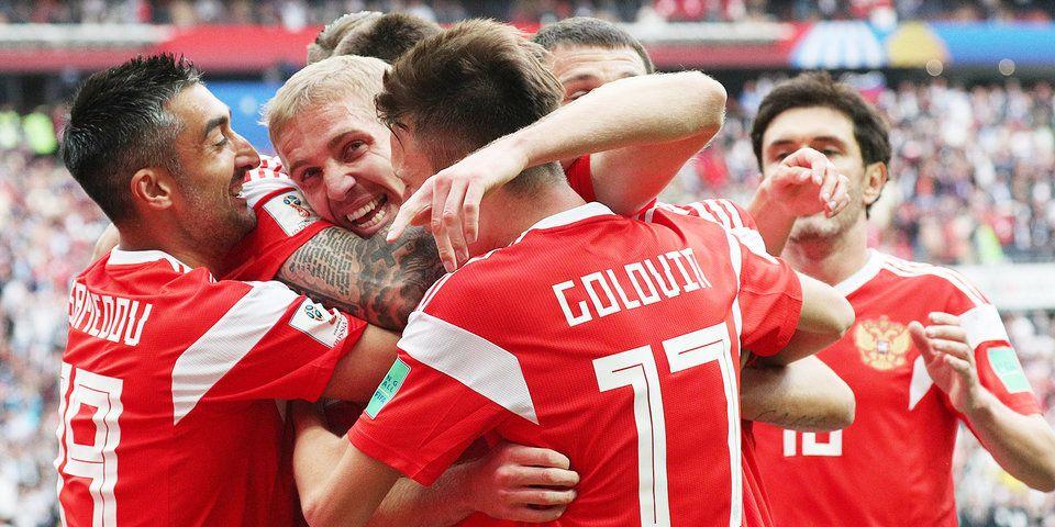 5:0 - фееричная победа сборной России в матче с Саудовской Аравией