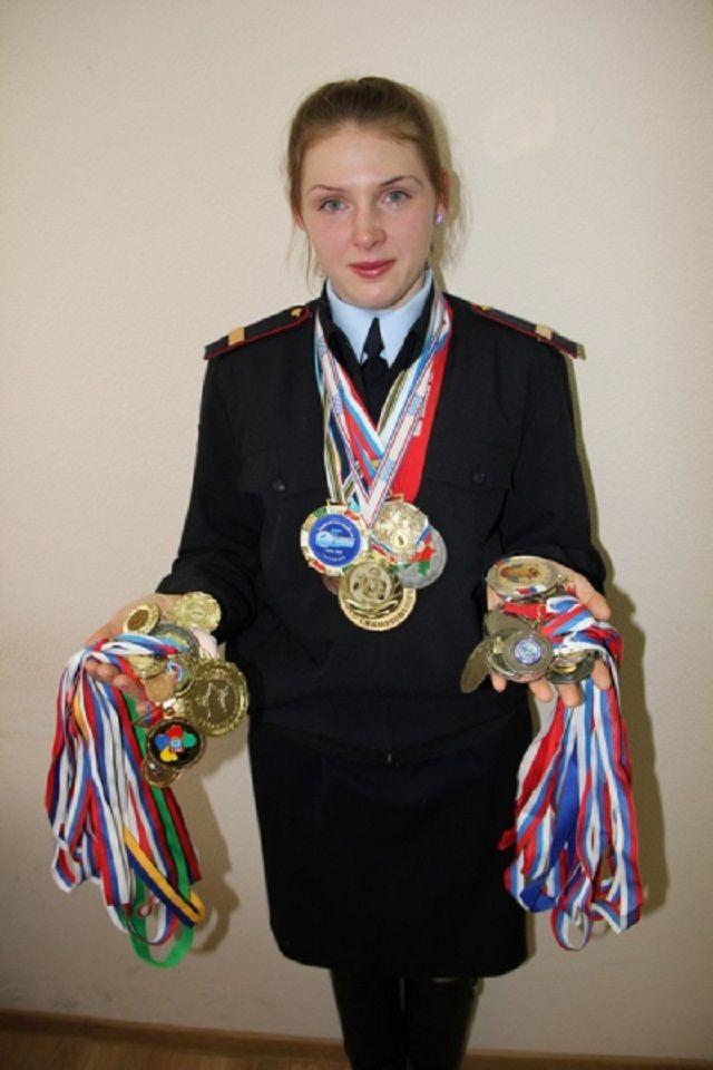 Сержант полиции из Ставрополя победила на чемпионате России по рукопашному бою