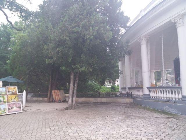 В парке Кисловодска демонтирован ещё один объект незаконной торговли