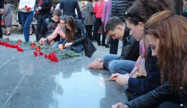 Жители Минеральных Вод скорбят о погибших при взрыве в питерском метро