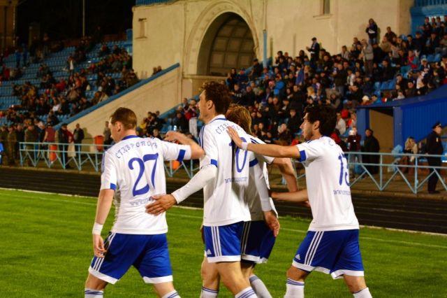 Футбольный клуб «Динамо» одержал первую победу в этом году