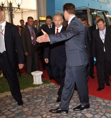 Владимир Путин посетил экспозицию Ставропольского края