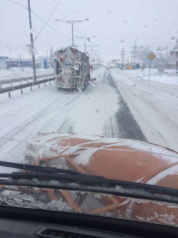 На Ставрополье федеральные дорожники обеспечили безопасный подъезд к краевому центру