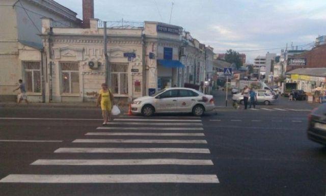В Ставрополе на пешеходном переходе сбили ребёнка