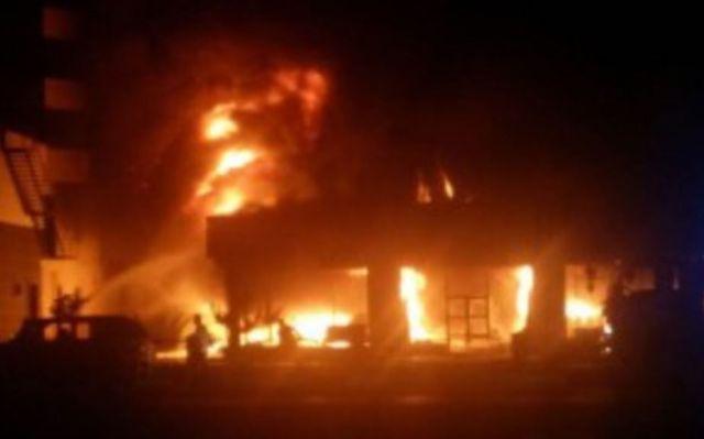 Торговавшая «Лирикой» аптека сгорела в Кисловодске