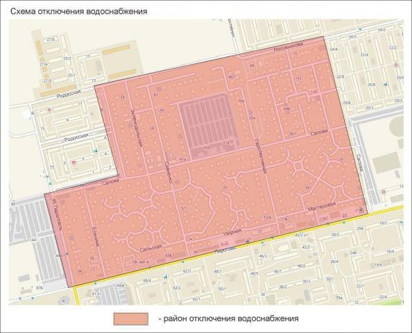 Несколько улиц Ставрополя останутся без воды