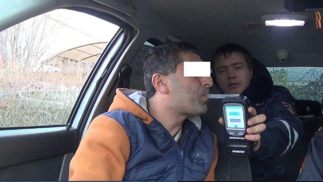 За неделю на Ставрополье сели за руль более 200 пьяных водителей