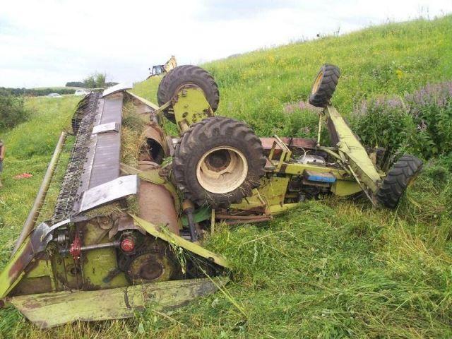 Двое ставропольцев погибли из-за лихачества при управлении косилкой
