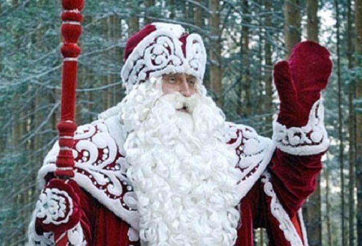 ВУфу прибыл дедушка Мороз изВеликого Устюга