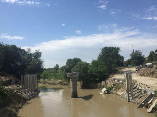 На Ставрополье идёт строительство нового моста через реку Кума