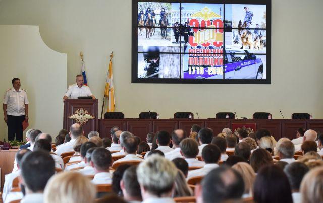 В Ставрополе отметили 300-летие российской полиции