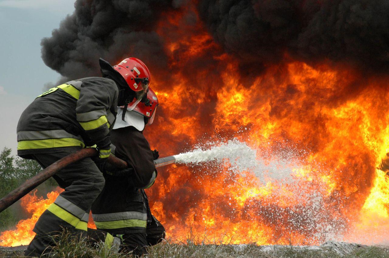 Чествуем ветеранов идействующих служащих пожарной охраны