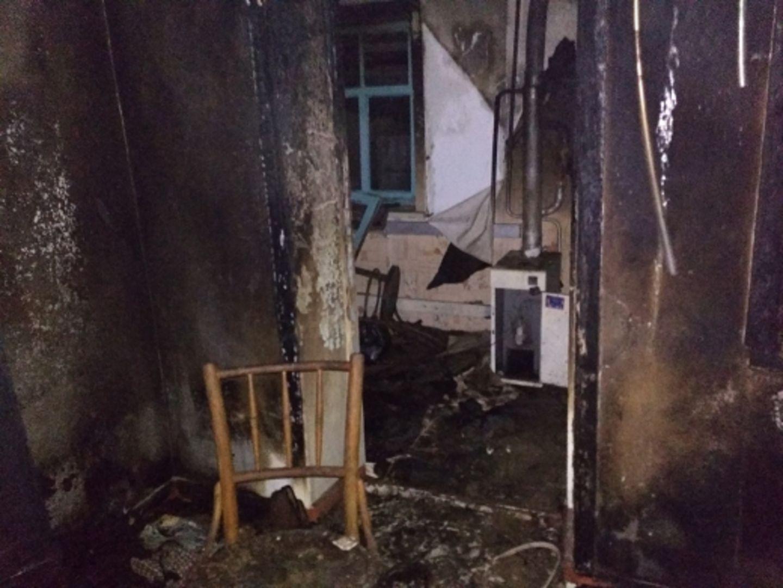 На Ставрополье загорелся частный дом, погиб человек