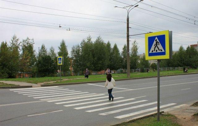 В Ставропольском крае у пешеходных переходов появились светящиеся предупреждения