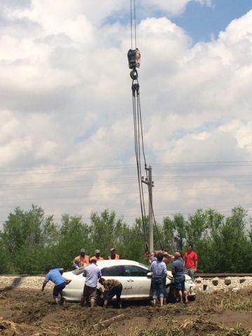 На Ставрополье восстанавливают дороги после мощного ливня 6 июля