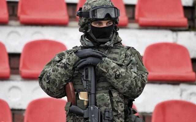 Бойцы спецназа провели для ставропольских школьников зарядку с элементами самбо