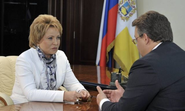 Валентина Матвиенко: Ставрополье — край динамичного развития