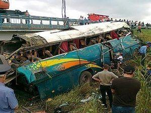 В Ставропольском крае перевернулся автобус с 47 пассажирами