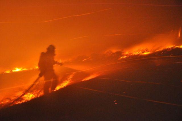 Ставрополец, допустивший пожар в районе озера Кравцово, заплатит штраф