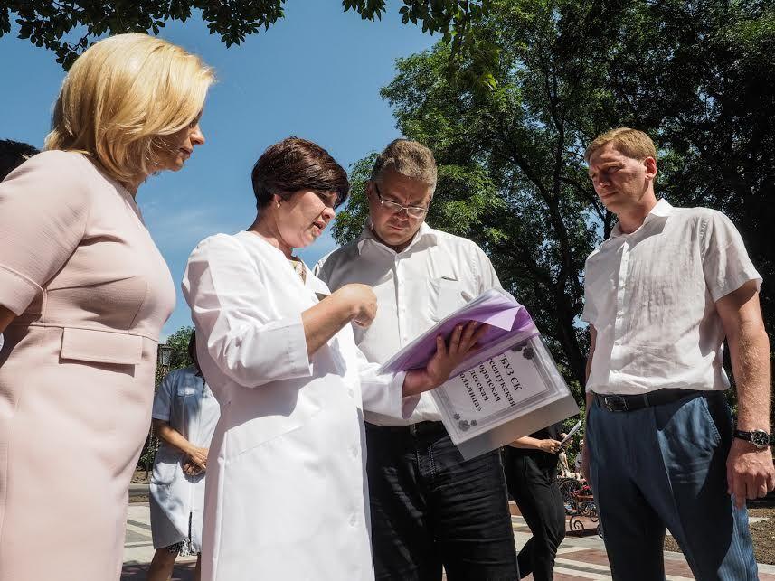 Губернатор Ставрополья Владимир Владимиров осмотрел лечебные заведения вЕссентуках