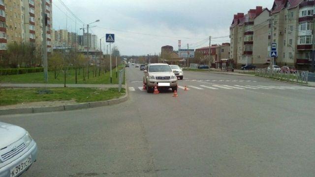 В Ставрополе водитель внедорожника сбил школьника на пешеходном переходе