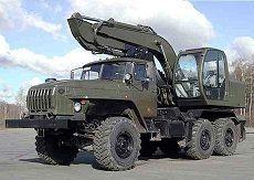 В инженерно-сапёрный полк на Северном Кавказе поступила новая спецтехника