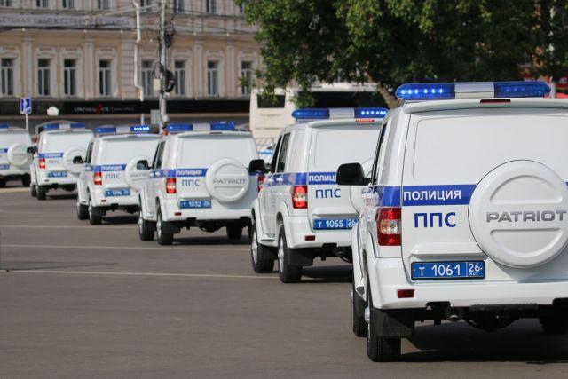 Ставропольские полицейские получили 50 новых служебных автомобилей
