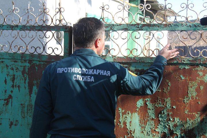 На Ставрополье загорелся пустующий дом