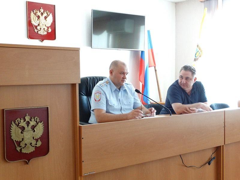 В Ставрополе прошло заседание общественного совета при МВД